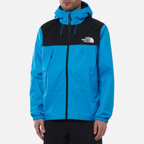Мужская куртка ветровка The North Face 1990 Mountain Quest Meridian Blue