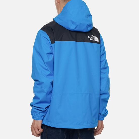 Мужская куртка ветровка The North Face 1990 Mountain Quest Clear Lake Blue
