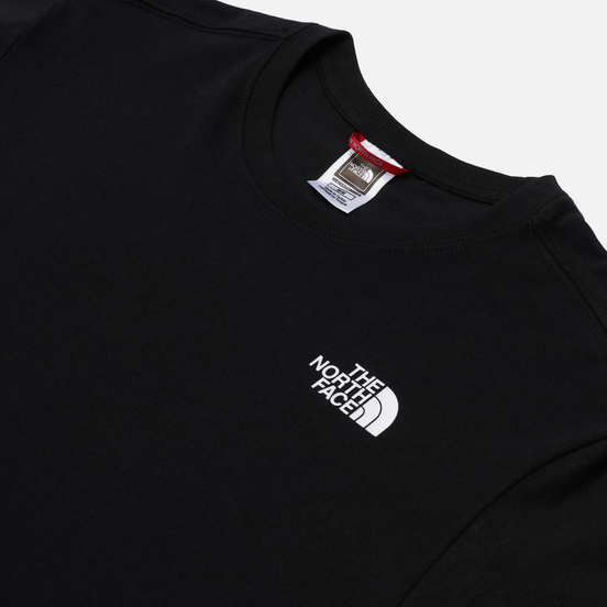Мужская футболка The North Face SS Red Box Black/Summit Gold