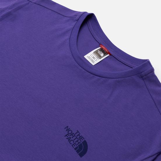 Мужская футболка The North Face SS Simple Dome Peak Purple