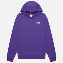 Мужская толстовка The North Face Raglan Red Box Hoodie Peak Purple