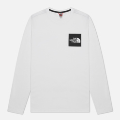 Мужской лонгслив The North Face Fine LS TNF White/TNF Black
