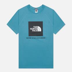 Мужская футболка The North Face SS Rag Red Box Storm Blue