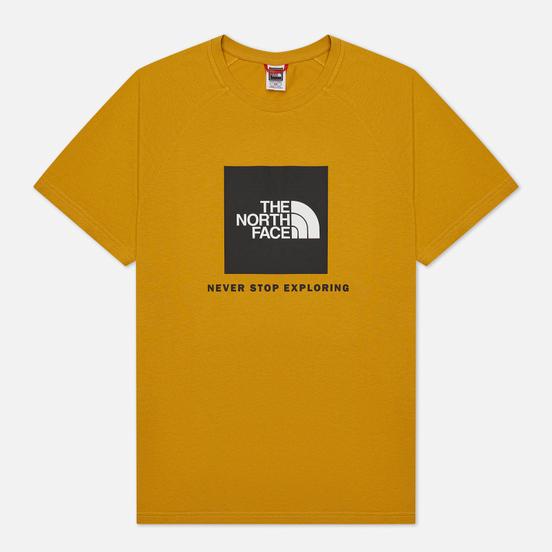 Мужская футболка The North Face SS Rag Red Box Arrowwood Yellow
