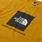 Мужская футболка The North Face SS Rag Red Box Arrowwood Yellow фото - 1