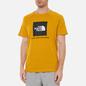 Мужская футболка The North Face SS Rag Red Box Arrowwood Yellow фото - 2