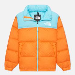 Мужской пуховик The North Face 1996 Retro Nuptse Red Orange/Transantarctic Blue