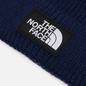 Шапка The North Face Logo Box Cuffed TNF Navy фото - 1