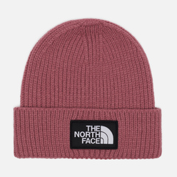 Шапка The North Face Logo Box Cuffed Mesa Rose