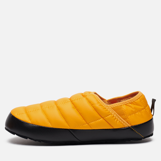 Мужские тапочки The North Face Thermoball Traction Mule V Summit Gold/TNF Black