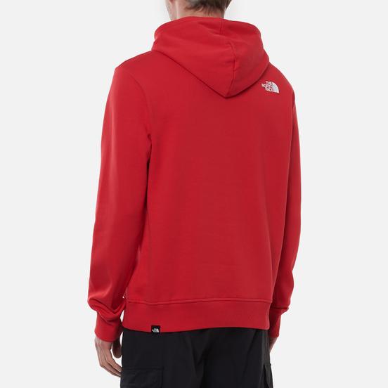 Мужская толстовка The North Face Standard Hoodie Horizon Red