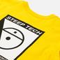 Мужской лонгслив The North Face LS Steep Tech Print Lightning Yellow фото - 2