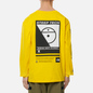 Мужской лонгслив The North Face LS Steep Tech Print Lightning Yellow фото - 4