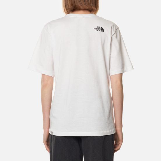 Женская футболка The North Face Boyfriend Easy TNF White/TNF Black