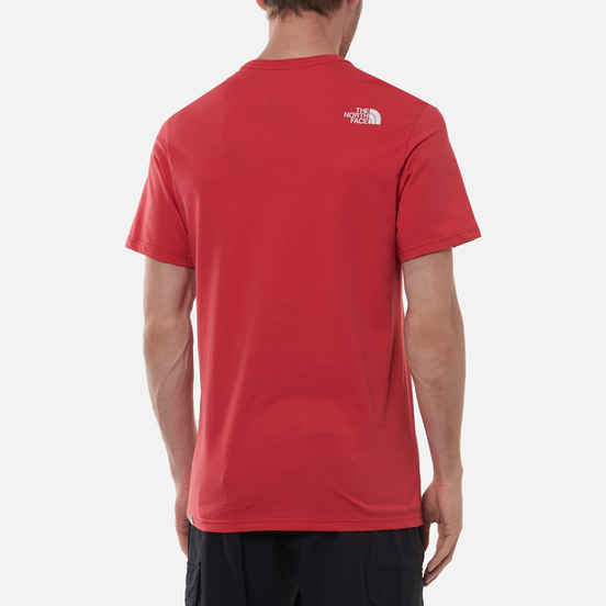 Мужская футболка The North Face SS Rust Rococco Red