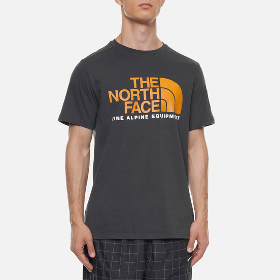 Мужская футболка The North Face Fine Alpine Equipment 2 Asphalt Grey
