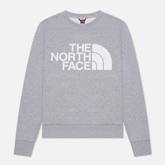 Женская толстовка The North Face Standard Crew TNF Light Grey Heather