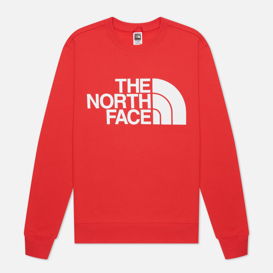 Мужская толстовка The North Face Standard Crew Horizon Red