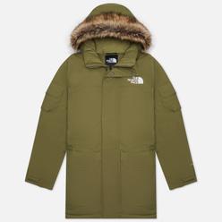 Мужская куртка парка The North Face MC Murdo Recycled Burnt Olive Green