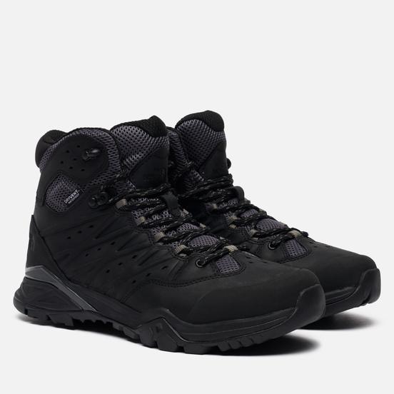 Мужские ботинки The North Face Hedgehog Hike II Mid WP TNF Black/Graphite Grey