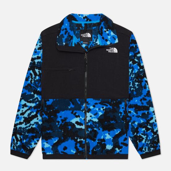 Мужская куртка The North Face Denali 2 Clear Lake Blue Digi Top Fleece 2 Print