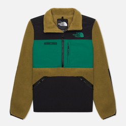 Мужская толстовка The North Face Steep Tech Half Zip Fleece Burnt Olive Green/Evergreen/TNF Black