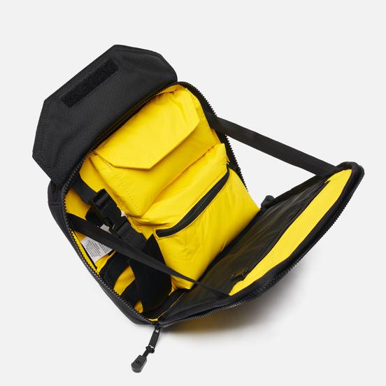 Сумка на пояс The North Face Steep Tech Chest TNF Black/Lightning Yellow