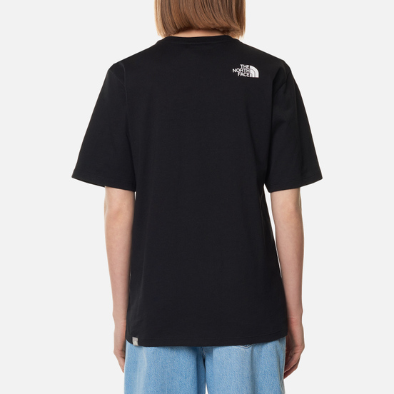 Женская футболка The North Face Boyfriend Fine TNF Black