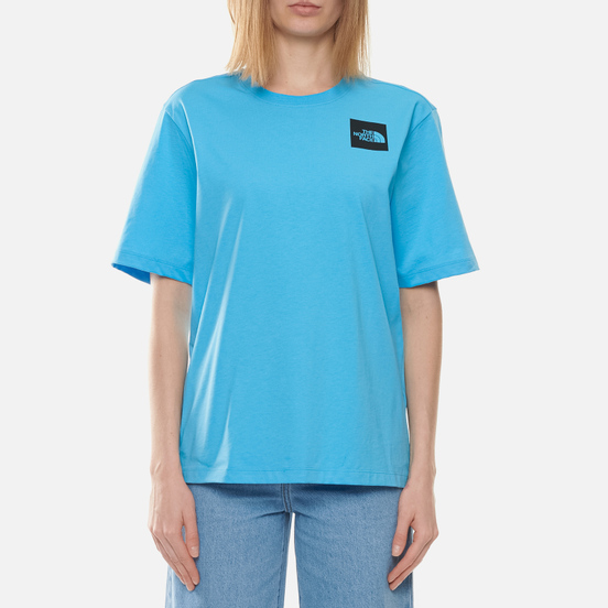 Женская футболка The North Face Boyfriend Fine Ethereal Blue
