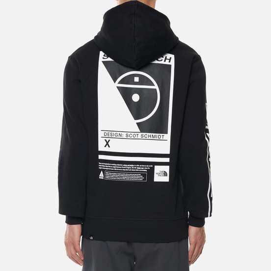 Мужская толстовка The North Face Steep Tech Logo Hoodie TNF Black