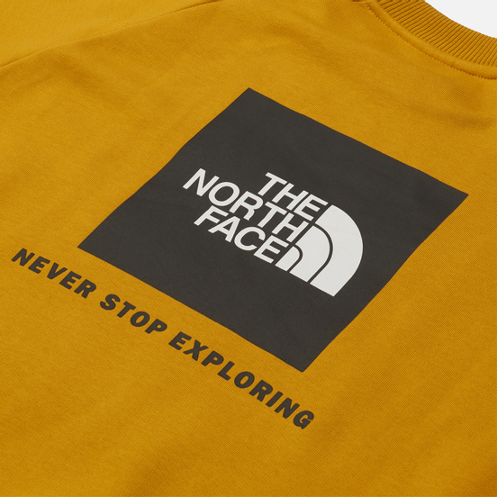 Мужская толстовка The North Face Raglan Redbox Crew Arrowwood Yellow
