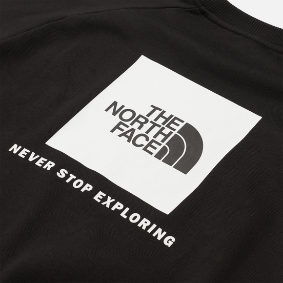 Мужская толстовка The North Face Raglan Redbox Crew TNF Black/TNF White/TNF White