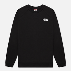 Мужская толстовка The North Face Raglan Redbox Crew TNF Black/TNF Red