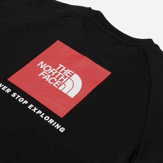 Мужская толстовка The North Face Raglan Redbox Crew TNF Black/TNF Red
