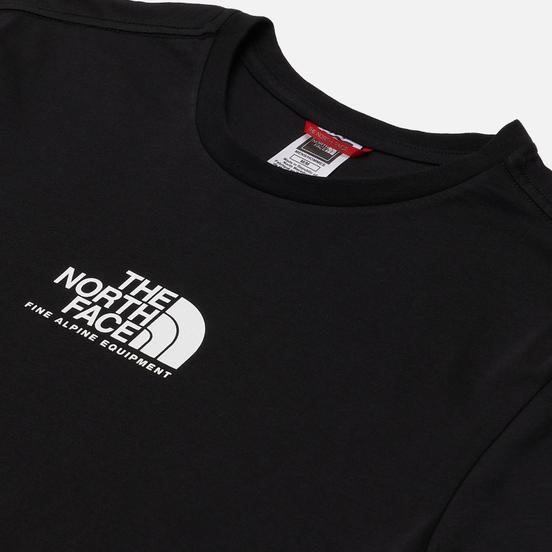Мужская футболка The North Face Fine Alpine Equipment 3 TNF Black