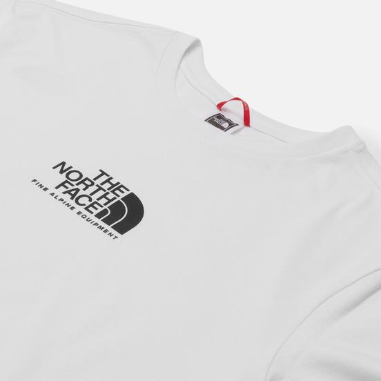 Мужская футболка The North Face Fine Alpine Equipment 3 TNF White/TNF Black