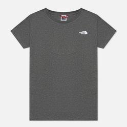 Женская футболка The North Face SS Graphic TNF Medium Grey Heather