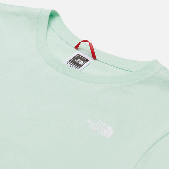 Женская футболка The North Face SS Graphic Misty Jade