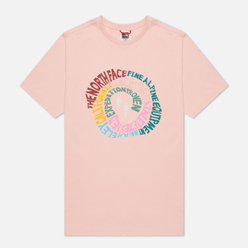 Мужская футболка The North Face SS Natural Wonders Evening Sand Pink