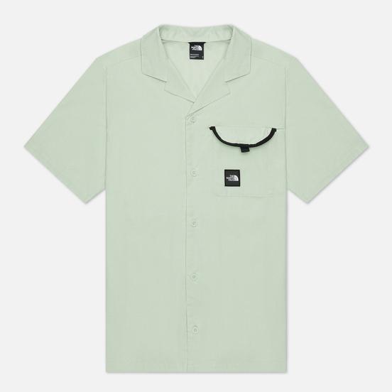 Мужская рубашка The North Face SS Black Box Green Mist