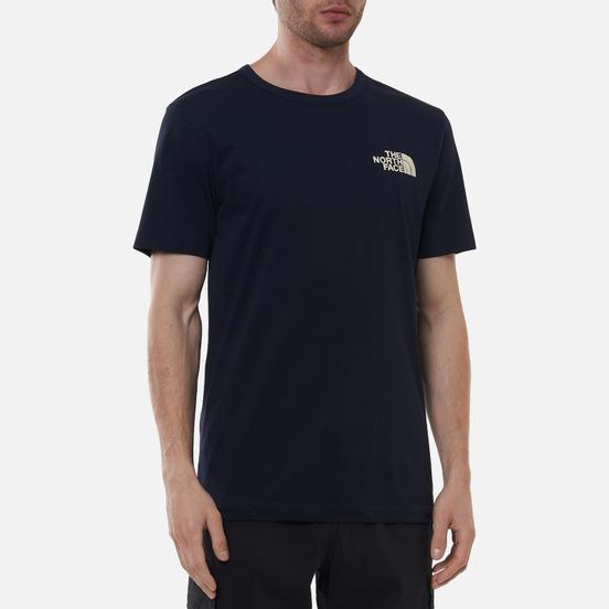 Мужская футболка The North Face Himalayan Bottle Source Aviator Navy