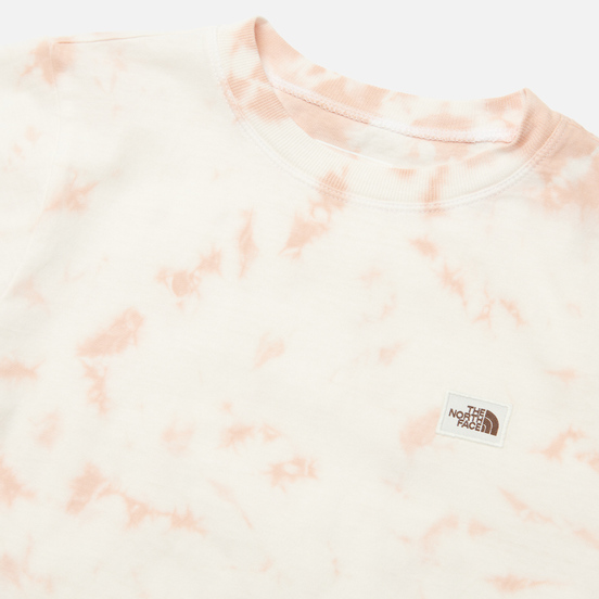 Женская футболка The North Face Natural Dye Evening Sand Pink Wash