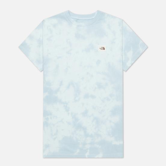Женская футболка The North Face Natural Dye Tourmaline Blue Wash