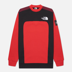 Мужская толстовка The North Face Black Box Cut And Sew Crew TNF Red