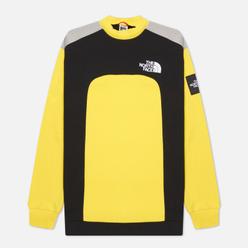 Мужская толстовка The North Face Black Box Cut And Sew Crew Lightning Yellow