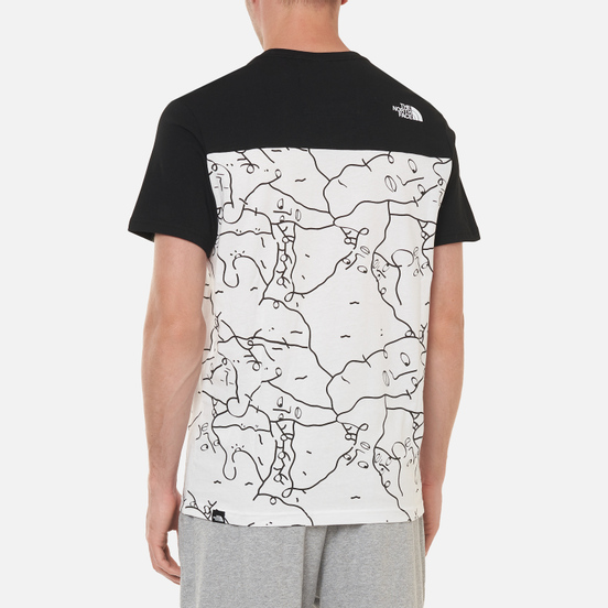 Мужская футболка The North Face Black Box Search And Rescue TNF White Shan Mar Search And Rescue Print