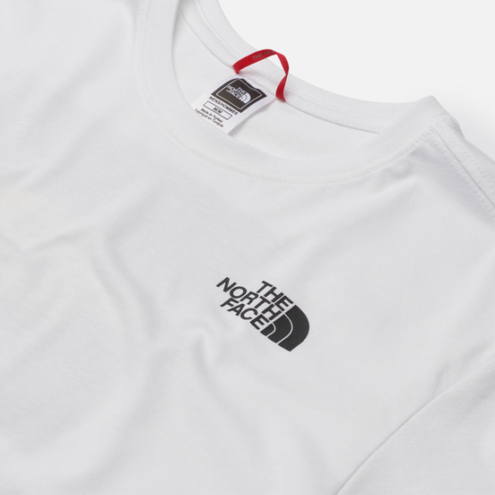 Мужская футболка The North Face Black Box Search And Rescue TNF White