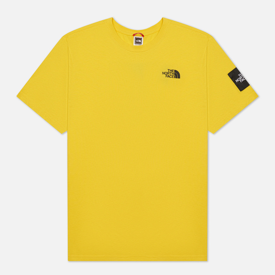 Мужская футболка The North Face Black Box Search And Rescue Lightning Yellow