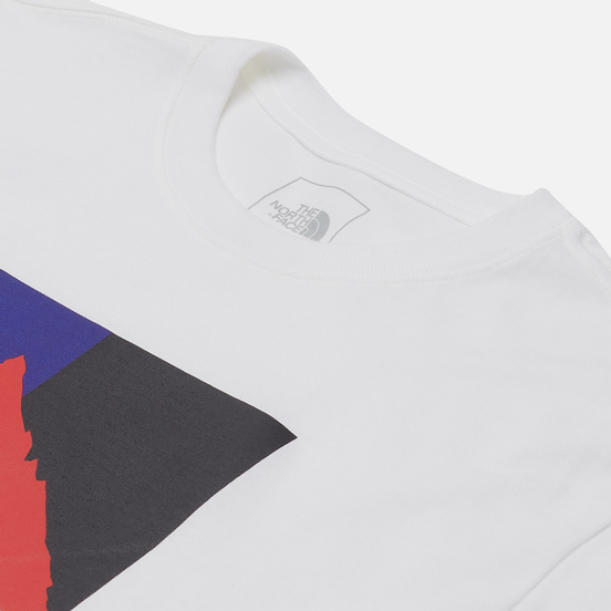 Мужская футболка The North Face SS Karakoram TNF White