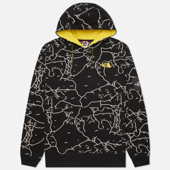Мужская толстовка The North Face Black Box Search And Rescue Hoodie TNF Black Shan Mar Search And Rescue Print